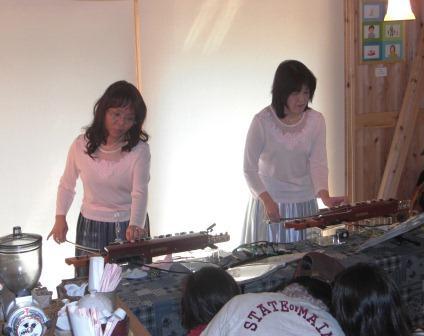 ビオリラ演奏の写真
