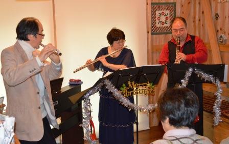 楽器演奏の写真