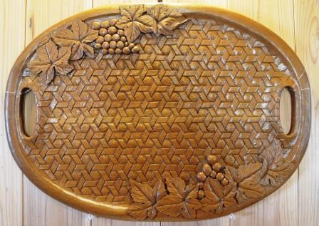 石崎悦子木彫展作品画像